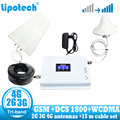 Lintratek Tri Band 900 1800 2100 GSM DCS WCDMA 2G 3G 4G LTE Ripetitore Del Segnale 900/ 1800/2100 del telefono Cellulare Cellulare Ripetitore Amplificatore