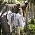 Невеста Франкенштейна Туту Платье Хеллоуин Костюм Маленькие Девочки Подростка платья 5 Т 6 7 8 10 Страшный Монстр Pageant Платье PT123
