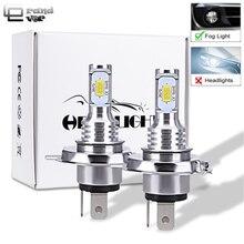GrandEver 2 шт 72 W H7 светодиодный лампы H4 светодиодный CANBUS ОШИБОК H1 для автомобилей светодиодный лампы работает для вождения светодиодный H11 противотуманные фонари 3000 K 6000 K 12 V