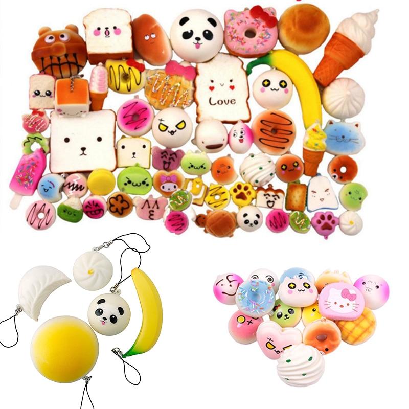SAINTGI Squishy pudcoco jucărie acțiune figura banana fructe slime - Produse noi și jucării umoristice