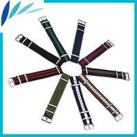 Nylon Watch Band 20mm For Diesel Watchband Stainless Steel Pin Buckle Strap Wrist Loop Belt Bracelet