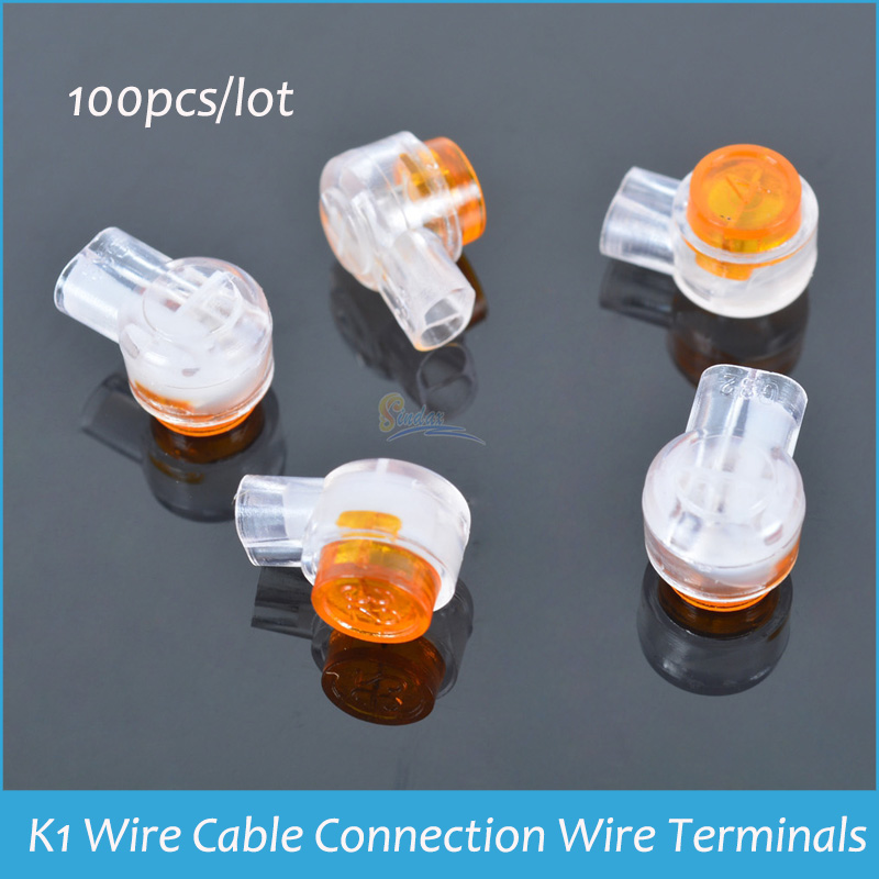 Sindax K1 Wire Cable Connection Wire Terminals Quick Fit Splicing ...