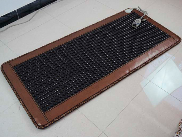 New Arrival Jade Cushion Mattress Natural Tourmaline Mat Physical Therapy Mat Korea Heated Mattress 0.7X1.6M Free Shipping best selling korea natural jade heated cushion tourmaline health care germanium electric heating cushion physical therapy mat