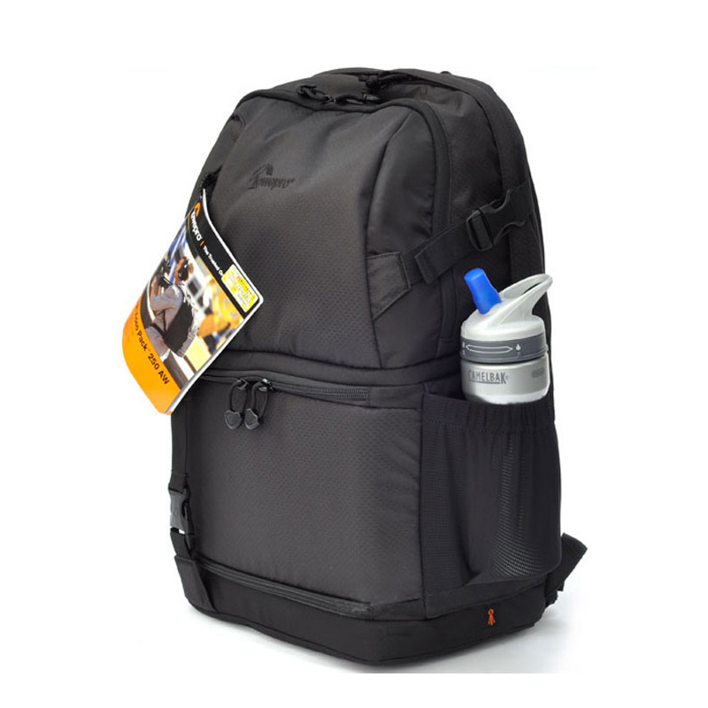 FAST SHIPPING Lowepro DSLR Video Fastpack 250 AW DVP 250aw SLR Camera Bag Shoulder Bag 15 Laptop & Rain Cover Wholesale free shipping new lowepro mini trekker aw dslr camera photo bag backpack with weather cove