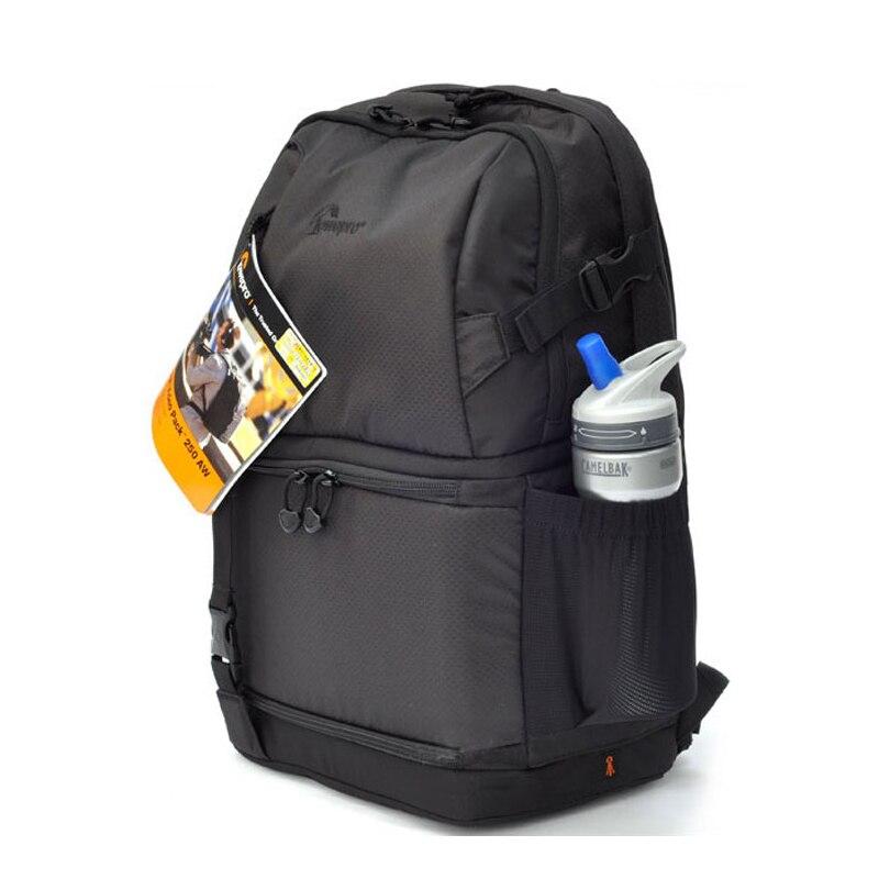 RAPIDE GRATUITE Lowepro DSLR Vidéo Fastpack 250 AW DVP 250aw Appareil Photo REFLEX Sac D'épaule Sac 15 Ordinateur Portable et Pluie couverture En Gros