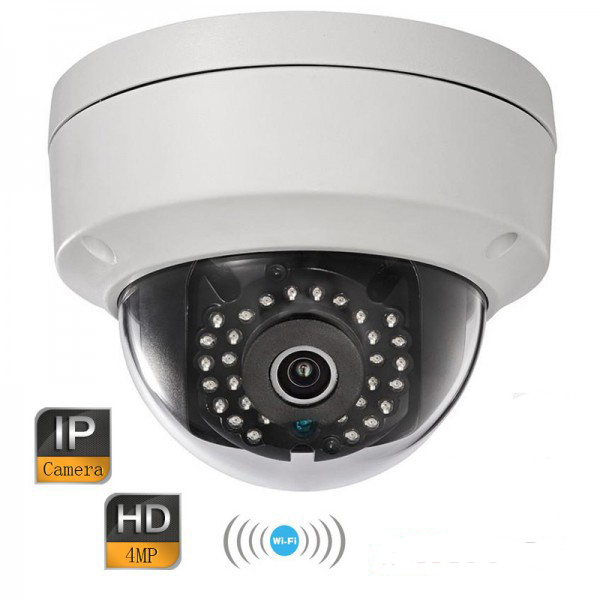 Hik DS-2CD2142FWD-IWS 4MP WDR Fixed Dome WIFI Network Camera 120dB Wide Dynamic Range with aduio dhl free shipping in stock new arrival english version ds 2cd2142fwd iws 4mp wdr fixed dome with wifi network camera