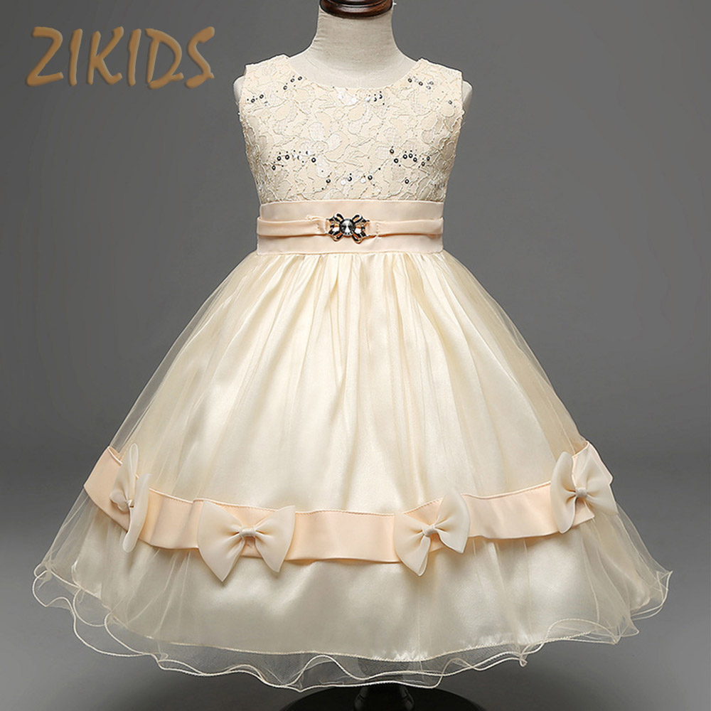 Girl party wedding dress kids evening dresses for girls for Dresses for wedding for kids