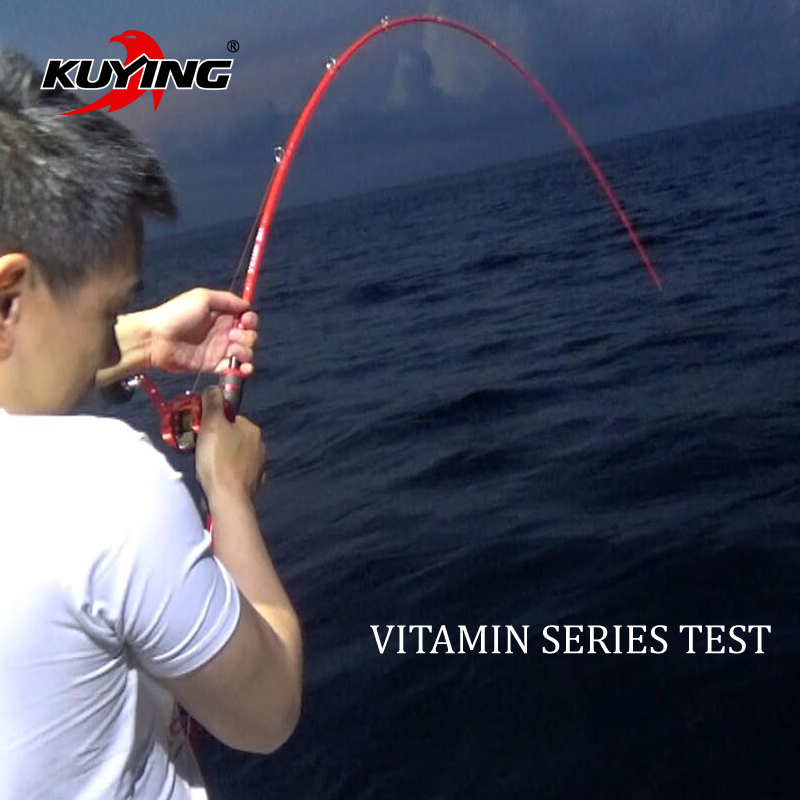 Kuying vitamin sea 1 5 sections casting spinning for Vitamin sea fishing