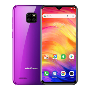 Image 5 - Ulefone not 7 Smartphone 6.1 inç 1GB RAM 16GB ROM MT6580A dört çekirdekli 3500mAh yüz kimlik üç arka kameralar Android 9 cep telefonu