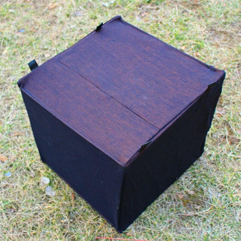 folding slingshot target box aiming practice catapult shooting canvas target 40cm*40cm slingshot silencer case