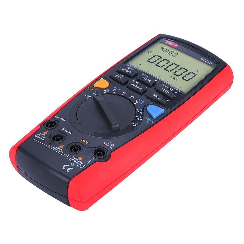 UNI T UT71A UT71B UT71C UT71D UT71E Intelligent LCD Digital Multimeter AC DC Volt Ampere Ohm