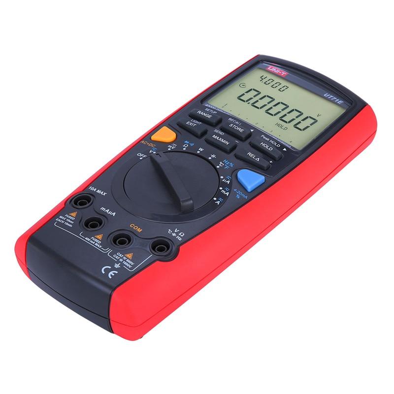 цена на UNI-T UT71A UT71B UT71C UT71D UT71E Intelligent LCD Digital Multimeter AC DC Volt Ampere Ohm Capacitance Temp Meter multimeter