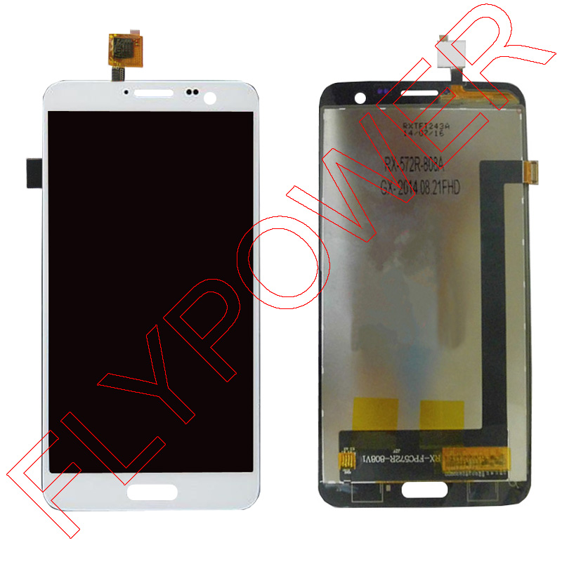все цены на  For Elephone p8 pro lcd screen display+touch screen digitizer assembly by free shipping; 100% warranty; white  онлайн
