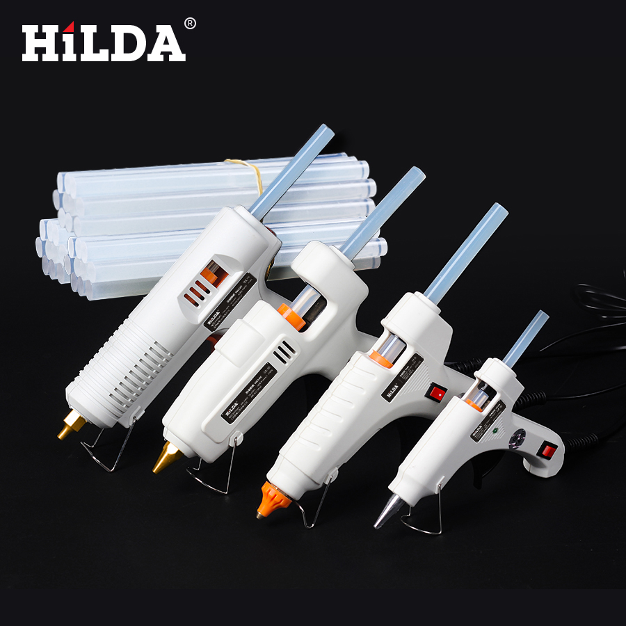 Cooperative Hilda 60w Industrial Electric Silicone Guns Hot Melt Glue Gun Thermo Gluegun Repair Heat Tools For Metal/wood Working Diy Back To Search Resultstools