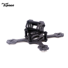 High Quality 9.5g X2 Eyas 80mm Carbon Fiber Mini Racing Frame Kit For RC Drones With Camera Quadcopter DIY Spare Parts