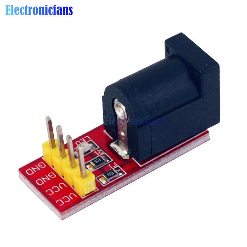 2PCS 5.5mmx 2.1mm DC Jack Socket Power Supply Module 5.5x 2.1mm For Arduino NEW