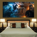 1 Piece HD Picture Print Game of Thrones Movie Poster Painting Night King Fantasy Art Dragon Picture Canvas Painting Wall Art