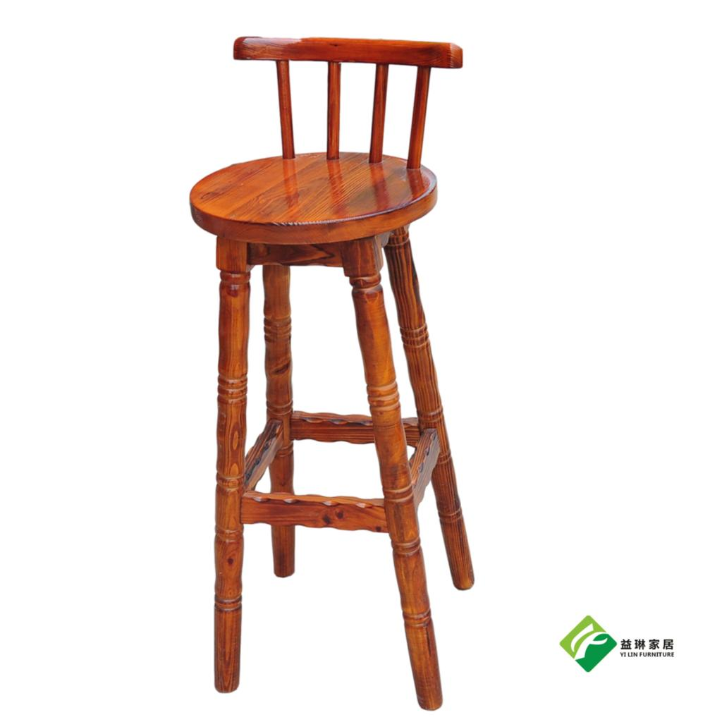 Sensational Lin Yi Burning Pine Carbide Rotating High Chairs Bar Stool Back Black Blue Brown Custom Outdoor In Bar Chairs From Furniture On Aliexpress Com Inzonedesignstudio Interior Chair Design Inzonedesignstudiocom
