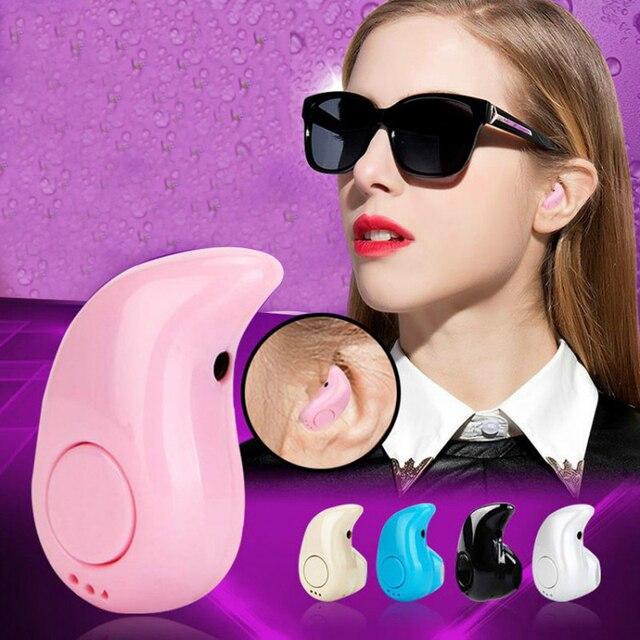 5 colores S530 auriculares Bluetooth deportivos estéreo bajo oreja colgante Bluetooth micrófono para teléfonos inteligentes Android Ios llamadas manos libres