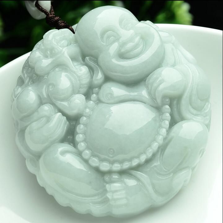 Light Green 100% Natural A PENDANT Buddha God Dragon Pi Xiu 225285 спортивный костюм xiu xiu meng gu 2015