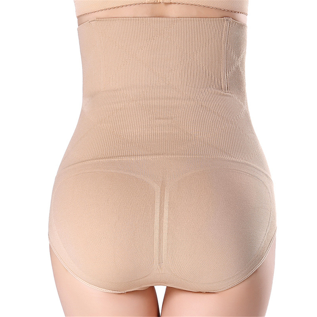 2019 High Waist Trimmer Shaping Underwear Butt Enhancer Breathable Sheath Panties Hot Body Shaper Slim Pants Women Shape Wear 2