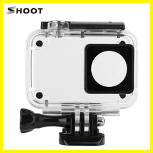 SHOOT Portable 40m Underwater Transparent Diving Sports Waterproof Case Housing Shell Cover for Xiaomi 4K/Yi 4K II Action Camera