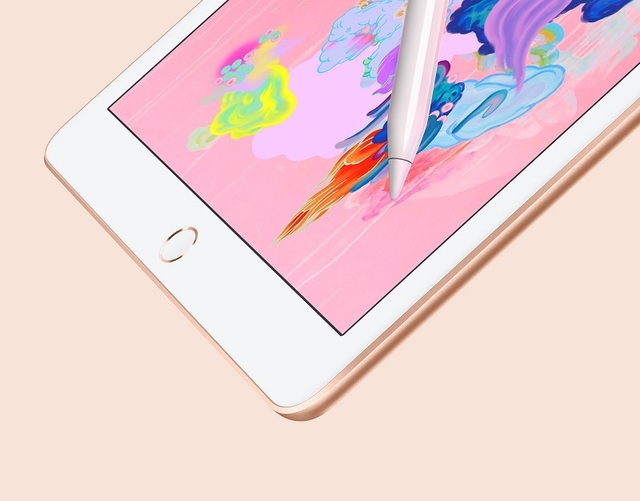 Apple New iPad 9.7 Inch 2018 Model Retina Display 32G WIFI Supporting Apple Pencil With A10 Fusion Chip IOS IPS Screen Original 4