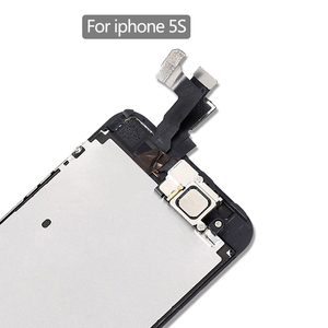 Image 3 - part original Full assembly LCD Screen for iPhone5/5C/5S/SE LCD Display Touch Screen Digitizer full Replacement home butt Camera