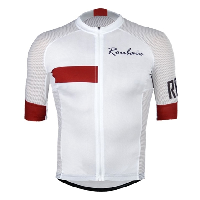 Maillot de Cyclisme à Manches Courtes pour Hommes Roubaix de Qualité 7 Couleur