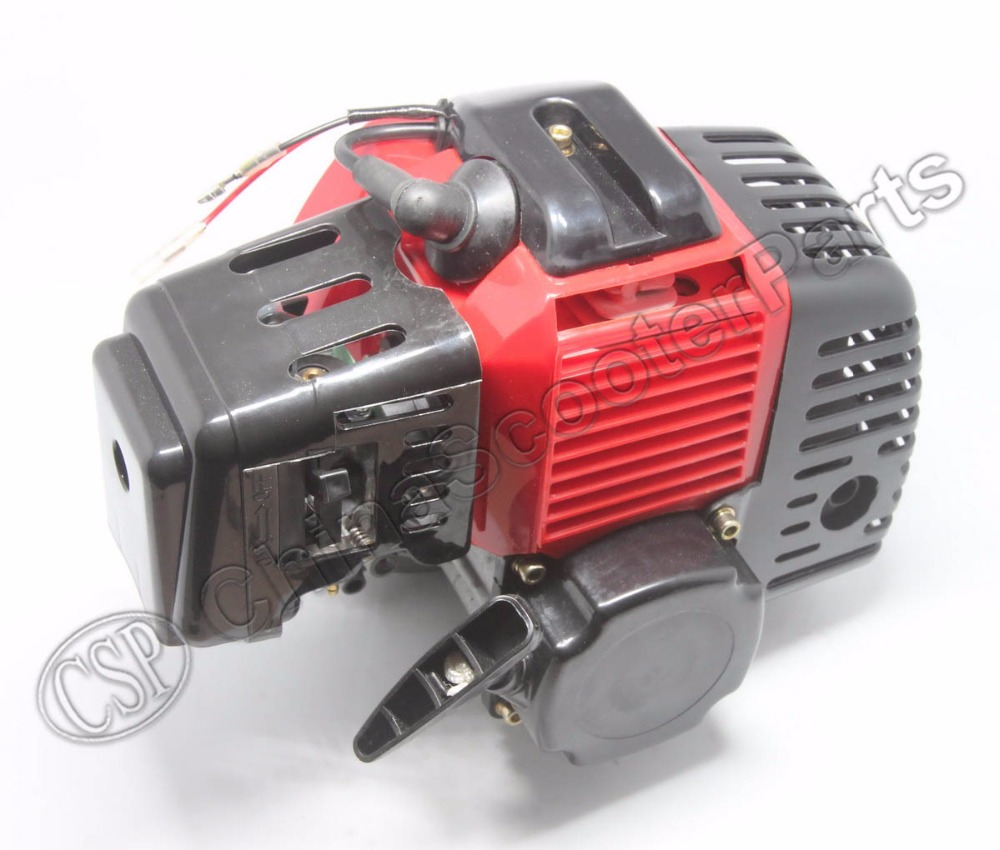 49CC Engine Plastic Pull Start 15MM Carburetor Plastic Mini Moto Pocket ATV Quad Buggy Dirt Pit
