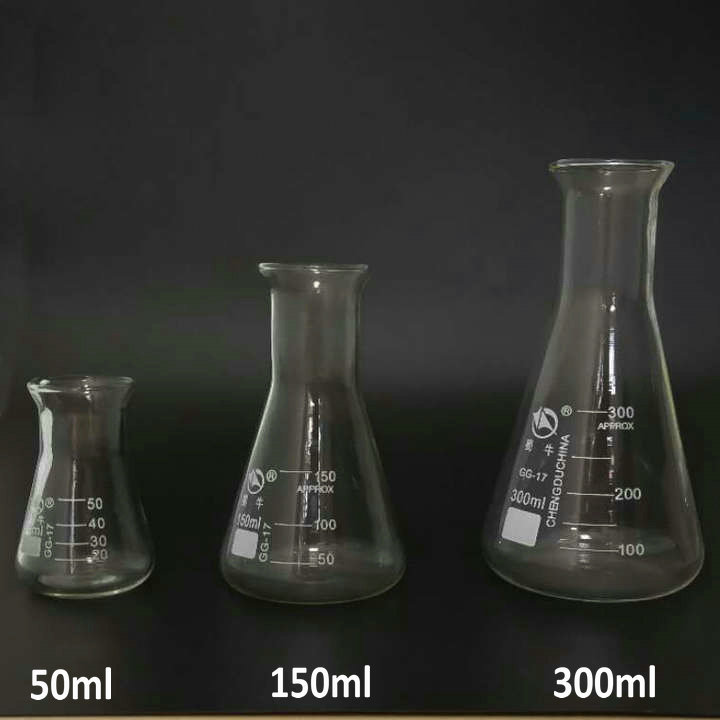 1Pc/lot 50ml to 2000ml Glass erlenmeyer flask, conical flask bottle with Wide Mouth, Glass Triangle Flask for Laboratory 4pcs set 100ml 250ml 500 1000ml plastic erlenmeyer flask conical flask bottle for laboratory tests
