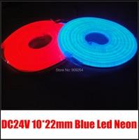Brand New DC24V Mini Blue LED Neon Flex 90leds Per Meter Easy Installation And Good Quality