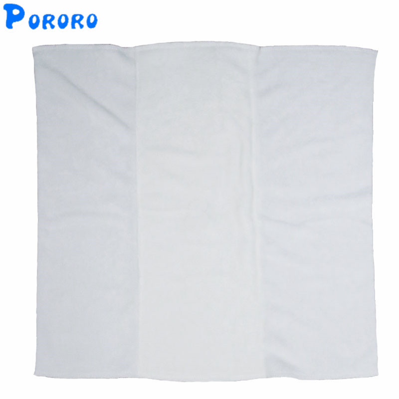 Baby Washable Fold Cloth Diaper Inserts Bamboo Fiber Breathable Super-absorbency Liners Nappy Baby Reusable Nappy  35x36cm