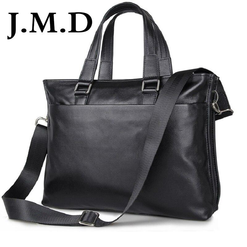 Здесь можно купить  J.M.D 2018 New Arrival 100% Leather Briefcases Men