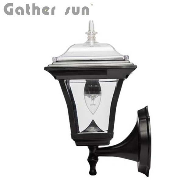 Led solar wall lamp outdoor 50lum pir light led bulb solar power led solar wall lamp outdoor 50lum pir light led bulb solar power panel ps body ip44 mozeypictures Image collections
