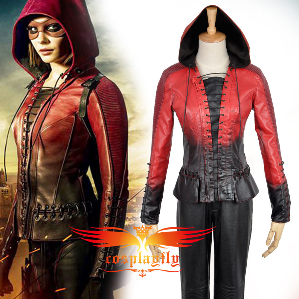 Green Arrow Season 4 Thea Queen Adult Women Outfit Clothing Cosplay Costume Custom Made Any Size