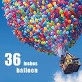 Moldeo por soplado de 36 pulgadas globo de látex de colores decorativos juguetes inflables para niños de 3
