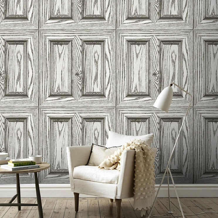 beibehang  Pvc wallpaper wood design Wall paper Roll For 3D Wallpaper for home decoration papel de parede listrado papier peint bulova часы bulova 96w205 коллекция diamonds