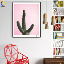 Nordic Cactus Posters and Prints Wall Art Plant Canvas Painting Pictures For Living Room Scandinavian Home Decor