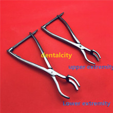 New Stainless steel Three-claw reset forceps Veterinary orthopedics Instruments