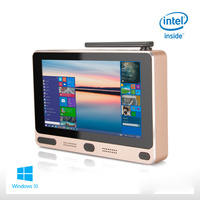 Portable Mobile Mini PC Windows 10 Home Pocket Business Tablet PC Intel Z8300 5 Screen 4GB RAM 64GB ROM USB WIFI BOX HDMI