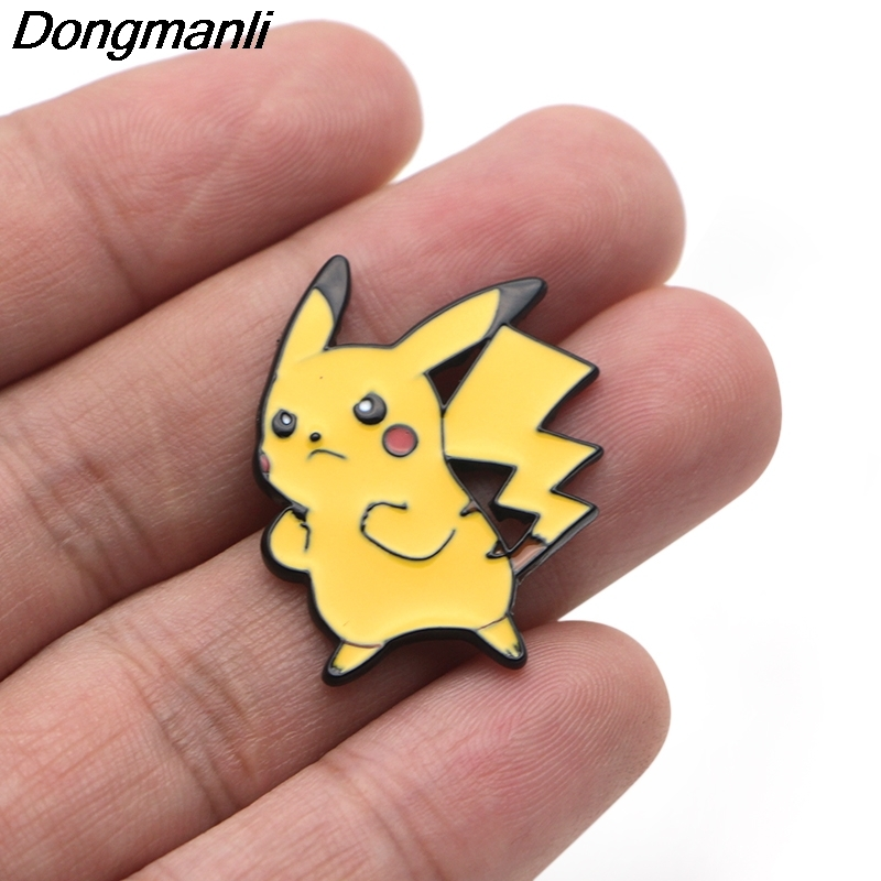 Image 4 - P3356 Wholesale 20pcs/lot Cute  Metal Enamel Pins and Brooches  for Women Men Lapel Pin backpack bags Hat badge GiftsBrooches   -