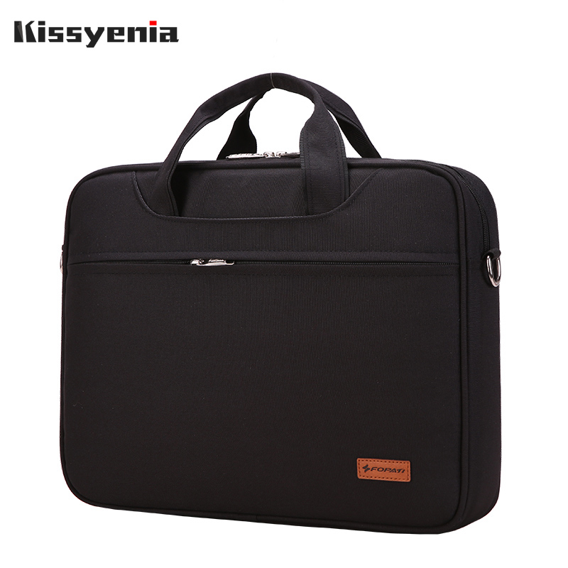Kissyenia Waterproof Business Briefcase For Men 13 14 Inch Laptop Bag Travel Portable Flight Available Men's A4 Briefcase KS1252