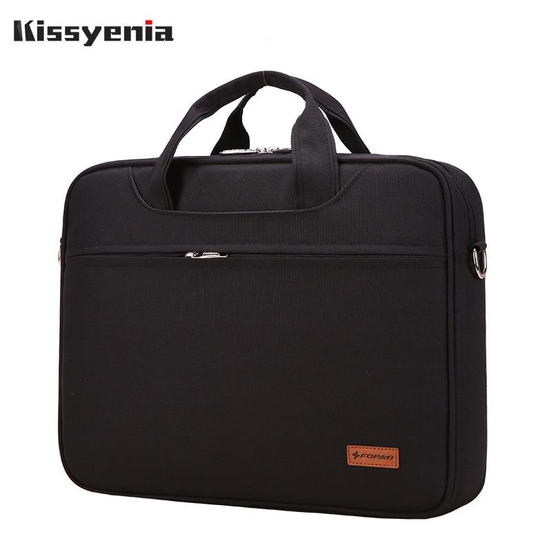 Kissyenia Waterproof Business Briefcase For Men 13 14 Inch Laptop Bag Travel Portable Flight Available Men's A4 Briefcase KS1252