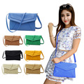 Fashion Shoulder Diagonal Magnetic Button Handbag Envelope Women's Bag