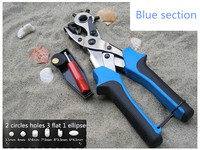NEW High Quality Multiple Size Leather Round Hole Punch Plier Tool For Belts Custom Paper Card
