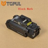 TGPUL тактический охотничий фонарь DBAL PL светодиодный оружейный прицел с красным лазером и ИК светом постоянного и стробоскопического выхода