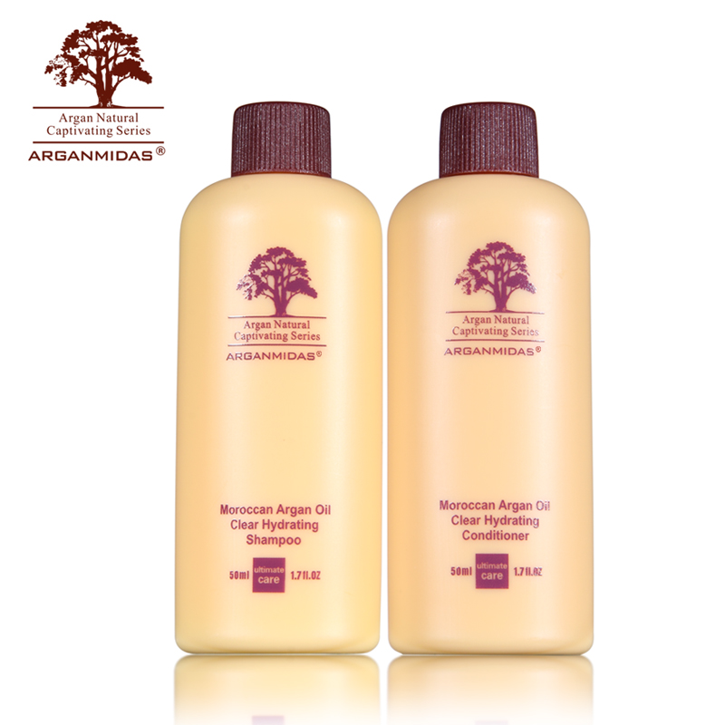 2 Sets Travel Argan Oil Shampoo And Conditioner Repair And Make Smoothing Shining Hair For Convenience Free Shipping