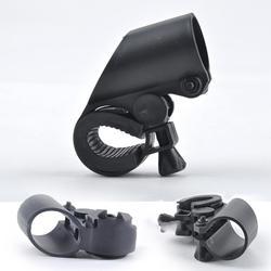 360 Поворотный велосипед велосипеда спереди факел монтируемый СВЕТОДИОДНЫЙ Фонарь держатель Клип резиновое Крепление кронштейн для