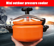 Explosion-proof portable mini pressure cooker home camping outdoor pressure cooker 2-3.5L small set of pot cookware цена